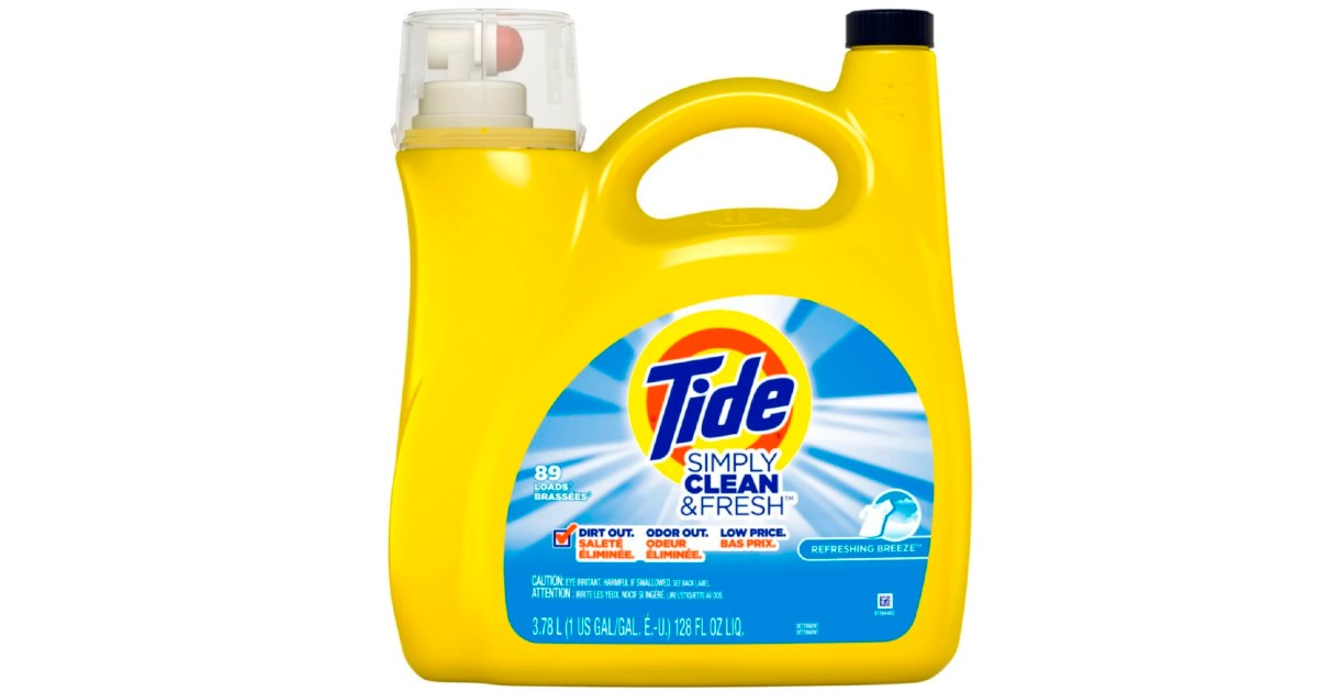 Tide Simply Detergent 89-Loads