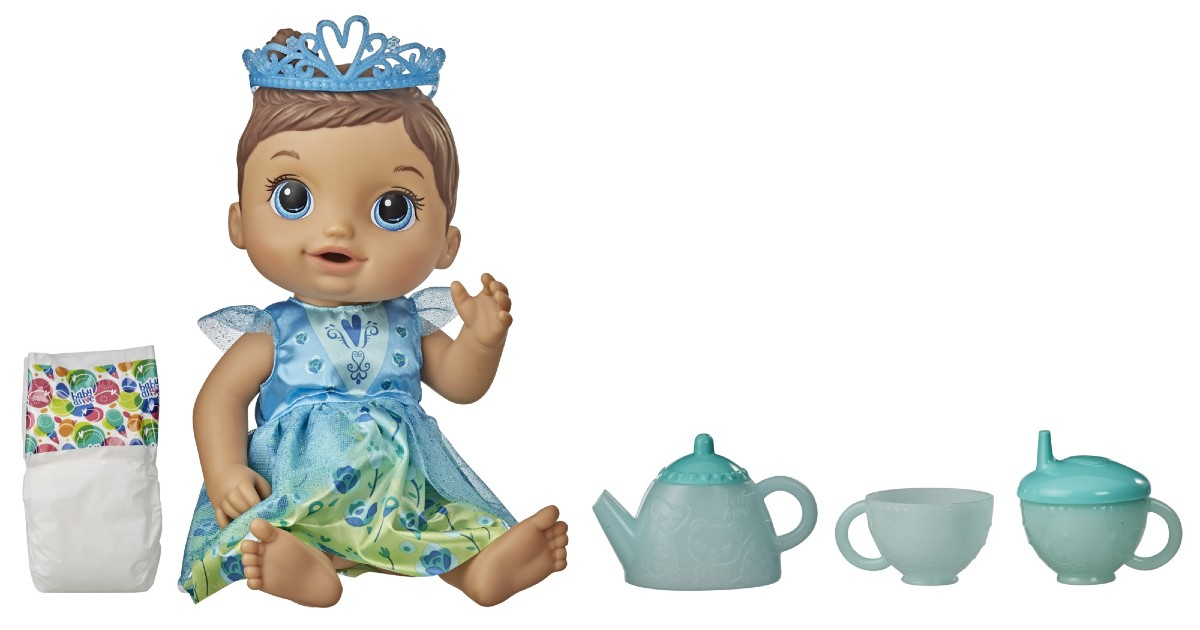 Baby Alive Tea n Sparkles Doll at Walmart