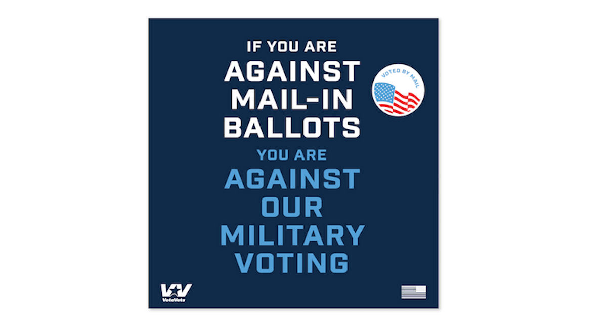 FREE Mail In Ballots Sticker