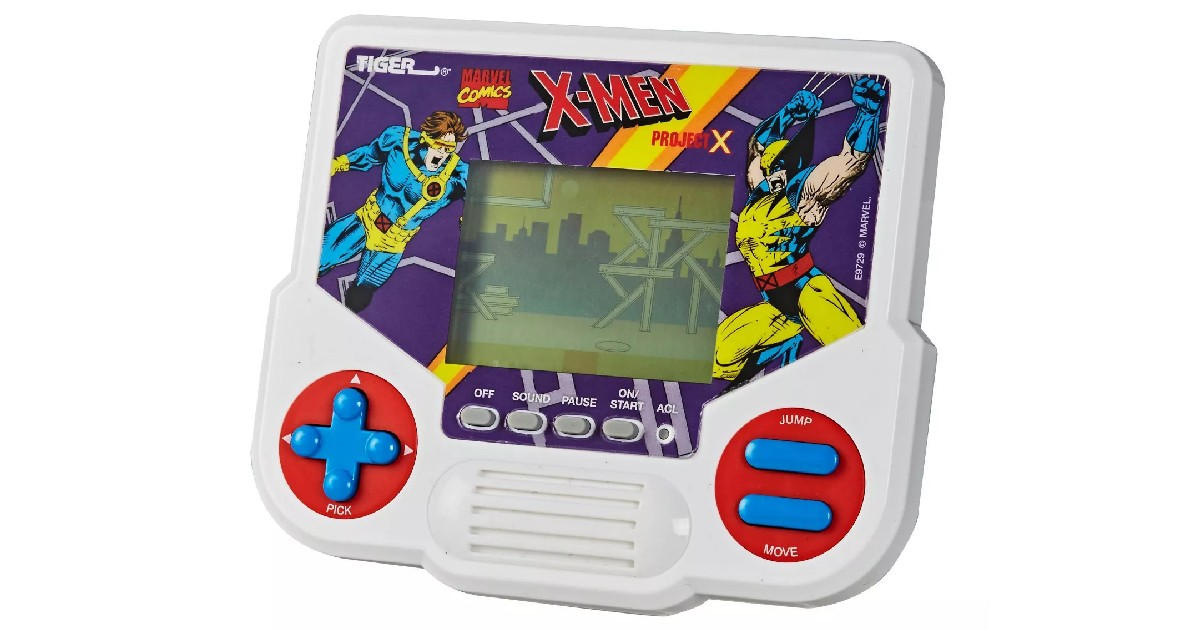 X-Men Project X LCD Video Game ONLY $6.74 (Reg. $13.49)