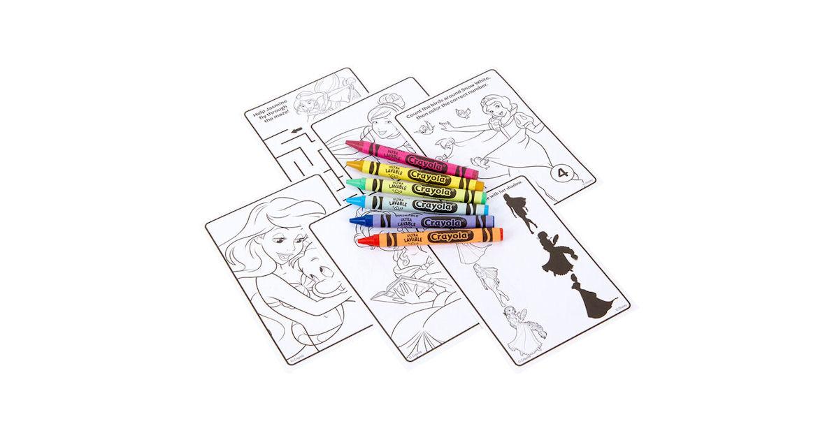 FREE Crayola Disney Coloring P...