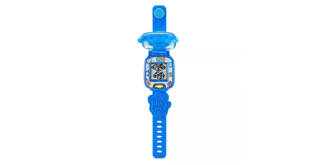 LeapFrog Blue's Clues & You Blue Learning Watch $5.34 (Reg. $11)