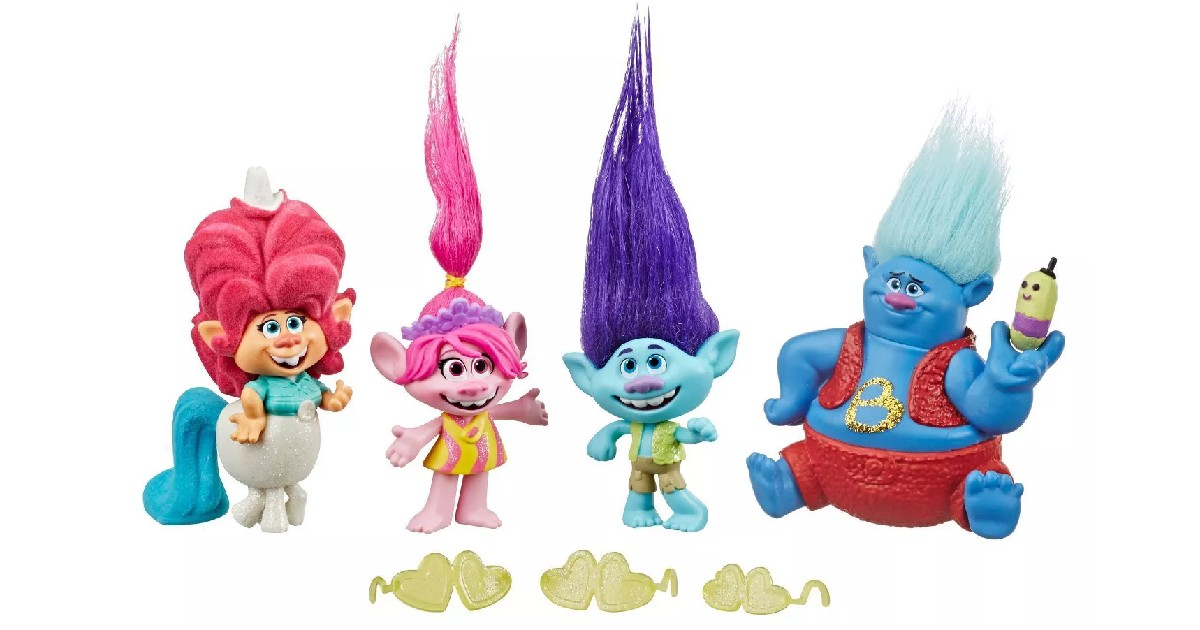 Trolls World Tour Collection Pack ONLY $5.24 (Reg. $10.49)