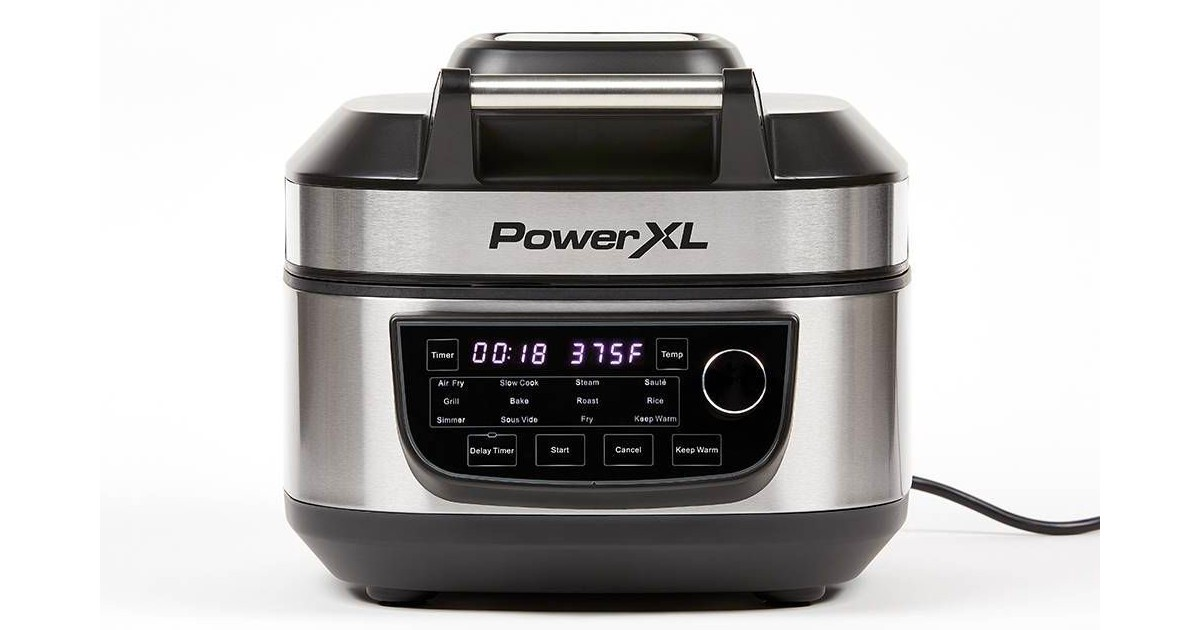 PowerXL Grill Air Fryer ComboONLY $99.99(Reg. $150)