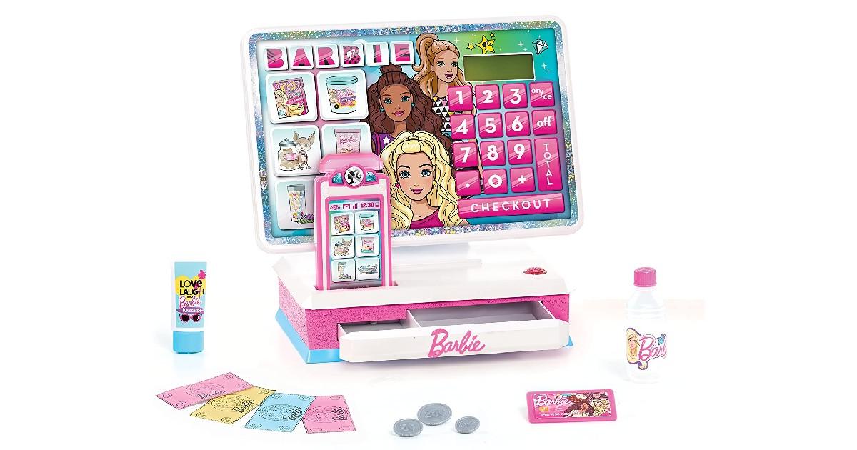 Barbie Large Cash Register ONLY $9.46 (Reg. $20)