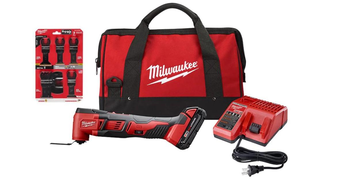 Milwaukee Cordless 18-V Multi-Tool Kit