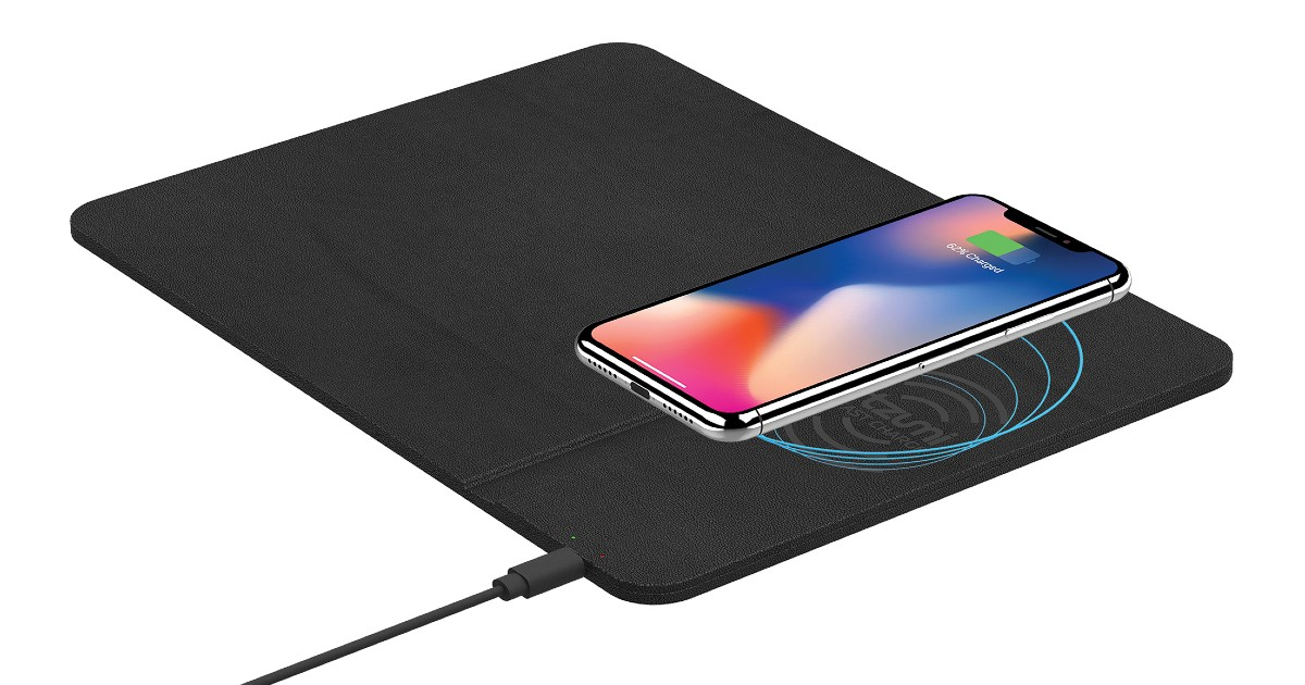 Wireless Charging Pad with Rechargeable Mouse ONLY $4.88 (Reg $17)