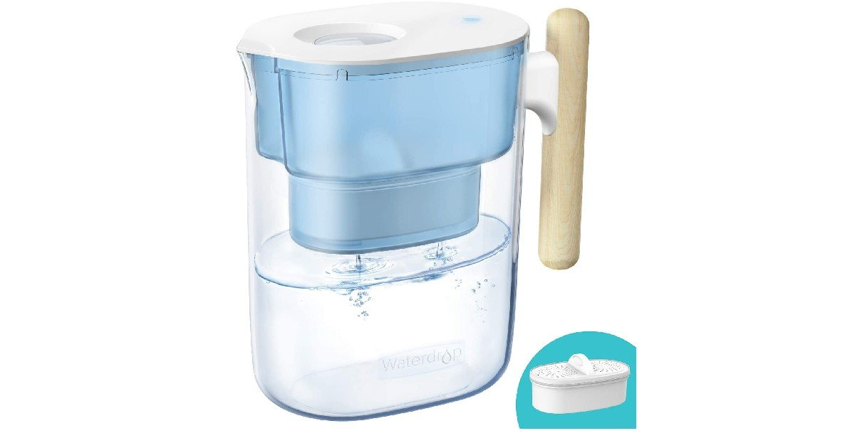 Chubby 10-Cup Water Filter Pitcher ONLY $23.09 (Reg. $41)