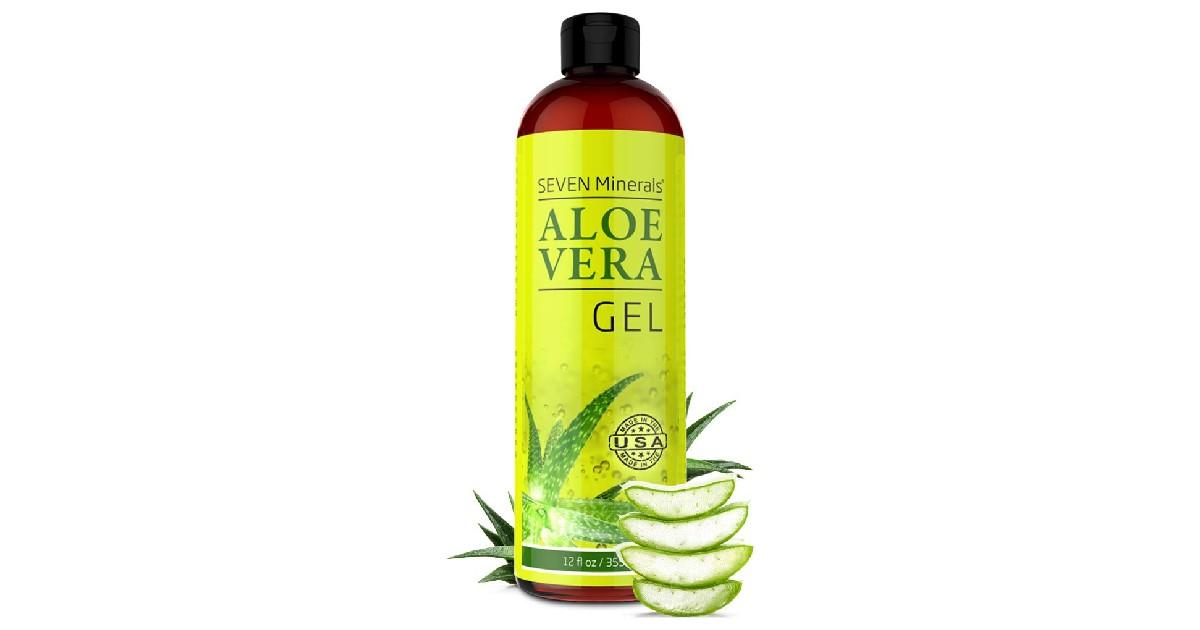Organic Aloe Vera Gel ONLY $13.95 (Reg. $25)