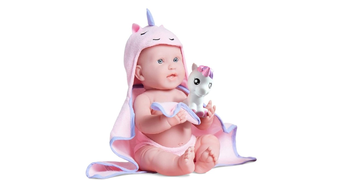 JC Toys Bubbles & Bath Doll ONLY $25 (Reg. $60)