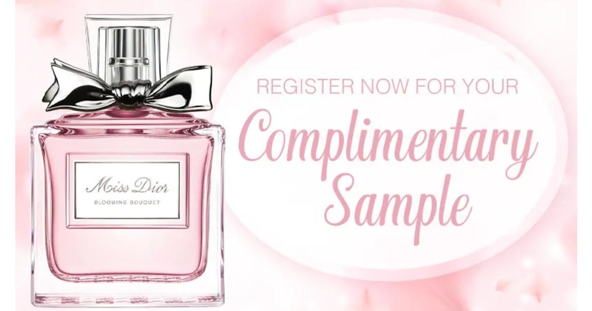 FREE Sample of Miss Dior Perfu...
