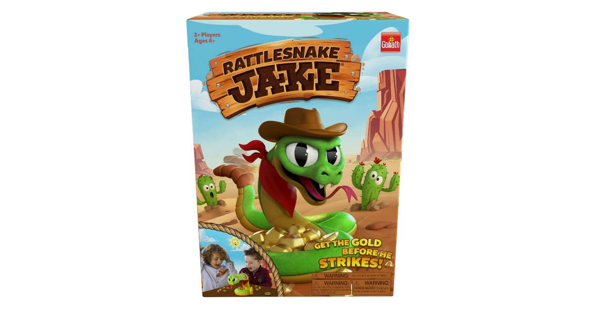 Goliath Rattlesnake Jake Game.