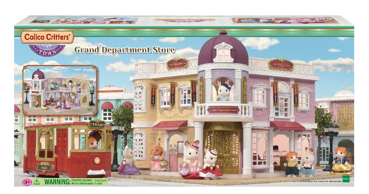 Calico Critters Grand Department Store ONLY $55 (Reg. $100)