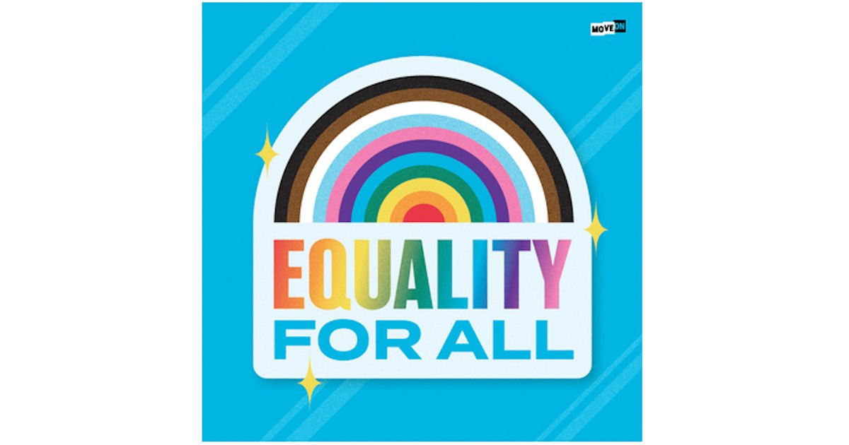 FREE Equality for All Sticker