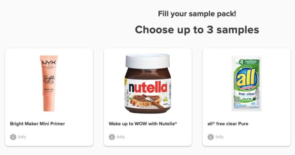 sampler samples