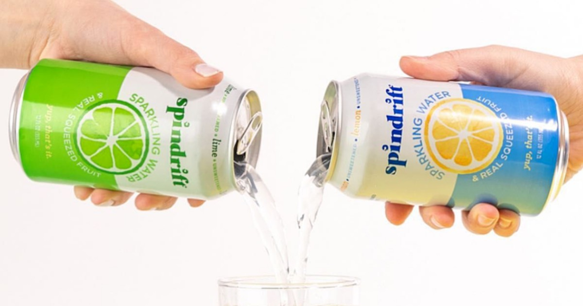 free spindrift sparkling water