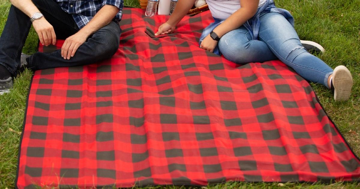 Ozark Trail Fleece Picnic Blanket
