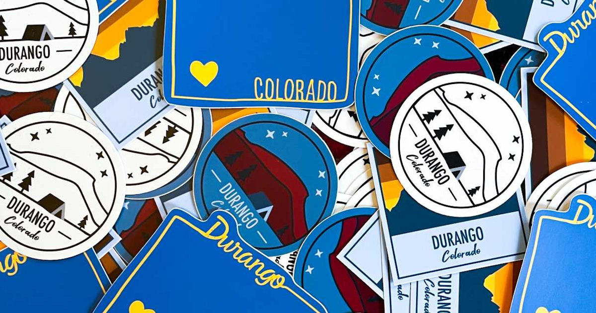 FREE Durango Sticker Set