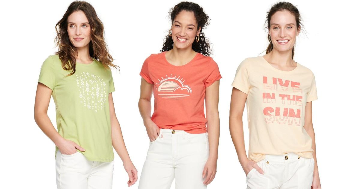 Sonoma Women's Short Sleeve Tee