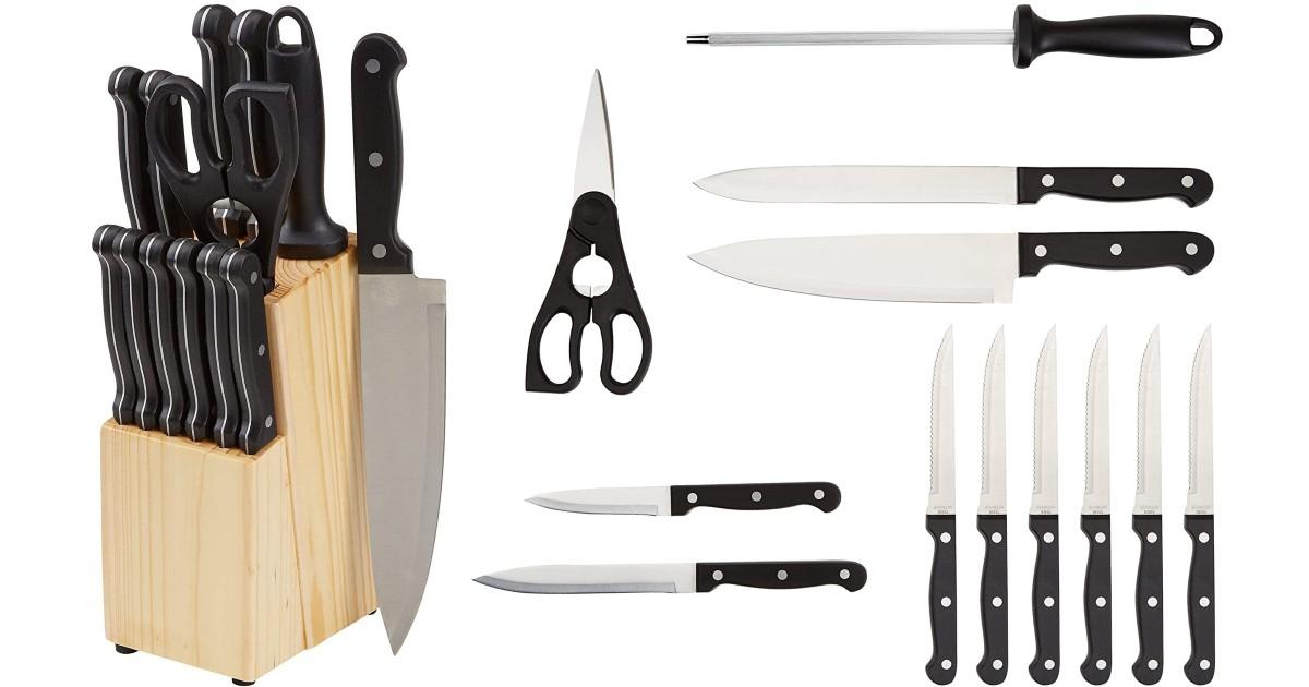 14-Piece Kitchen Knife Set