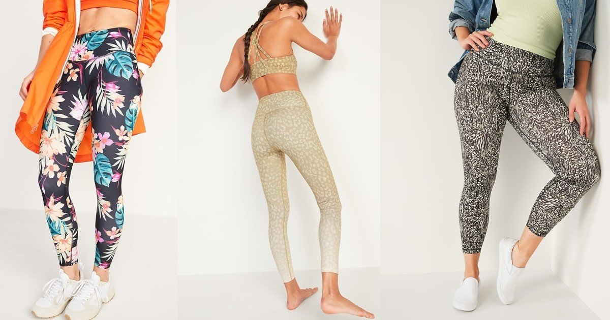 Old Navy High-Waisted Elevate Leggings