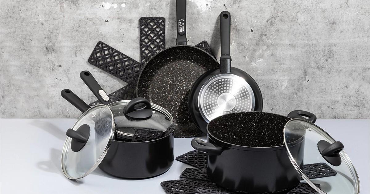 Brooklyn Steel 12 Piece Cookware Set ONLY $69.99 (Reg $170)