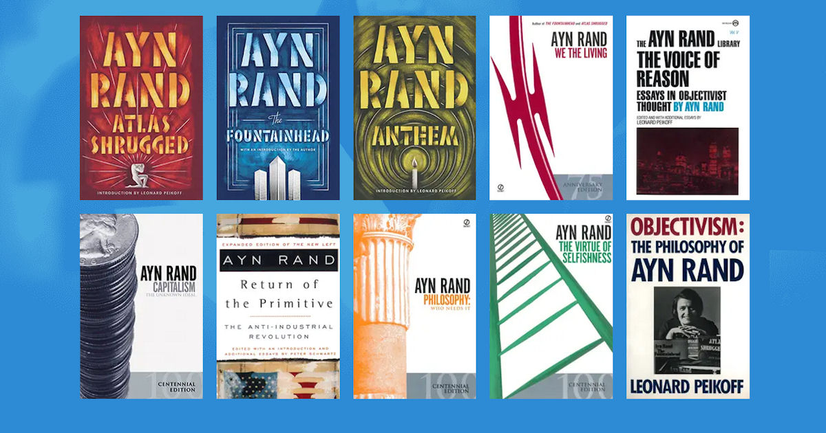 FREE Ayn Rand eBooks for Students