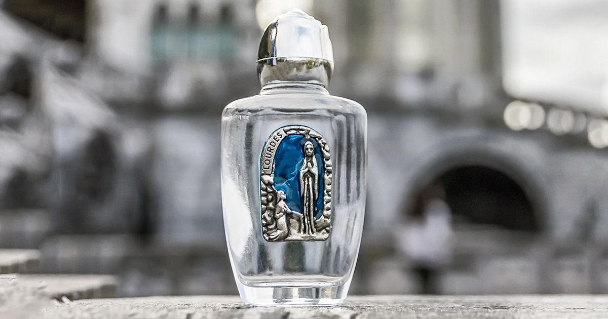 FREE Sample of Lourdes Water