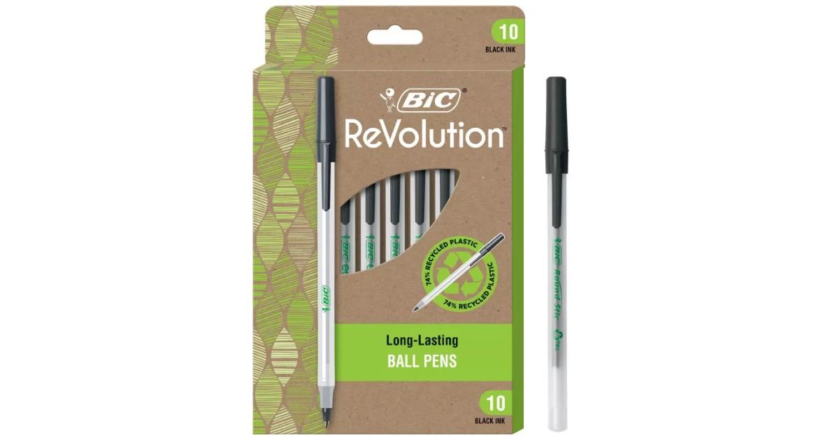 Bic Revolution Pens 10-Pack