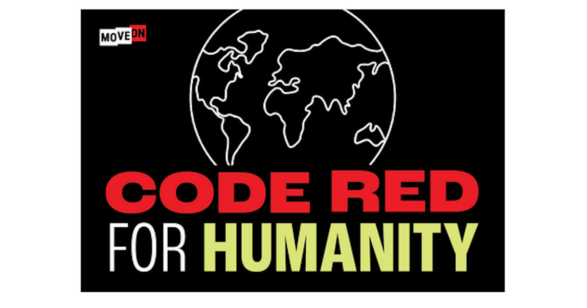 FREE Code Red for Humanity Sti...