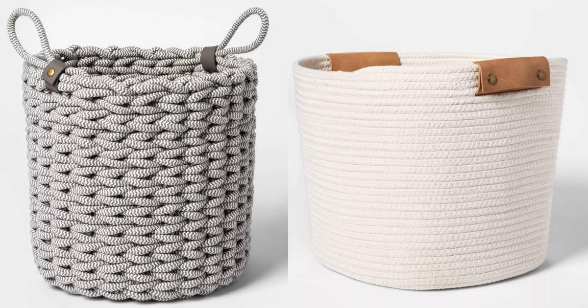 40% Off Storage Baskets at Target