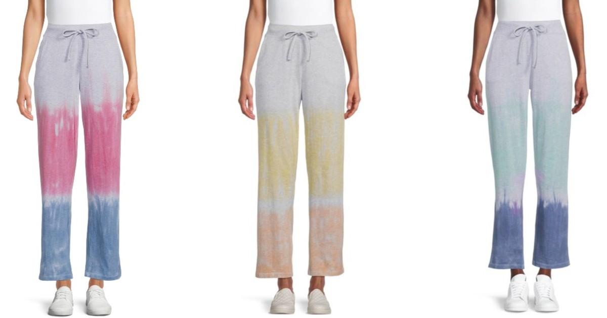 Womens Active Dip Dye Sweatpan...