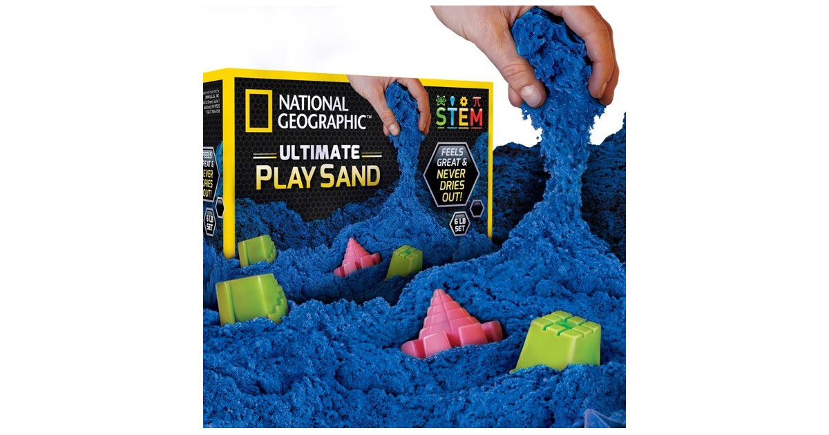 National Geographic Play Sand ONLY $9.73 (Reg. $28)