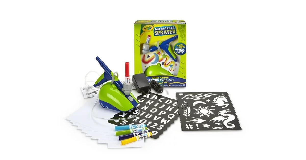 Crayola Air Marker Sprayer ONLY $6.96 (Reg. $25)