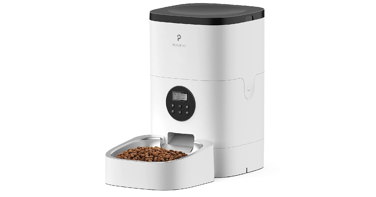 Automatic Pet Dry Food Dispenser ONLY $49.49 (Reg. $110)