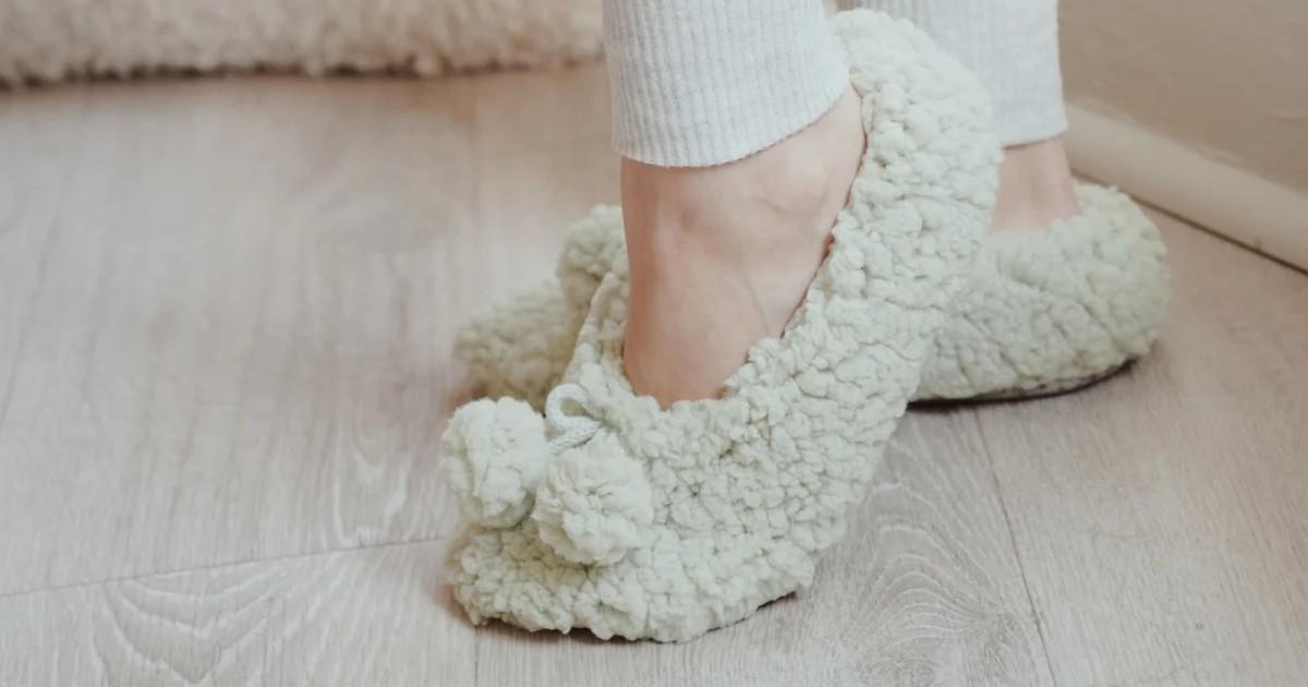 MUK LUKS Moisturized Ballerina Slipper Sock ONLY $6.99 (Reg $16)