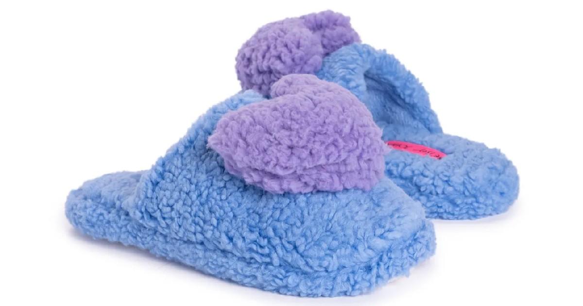 Betsey Johnson Novelty Scuff Slippers ONLY $9.99 (Reg. $29)