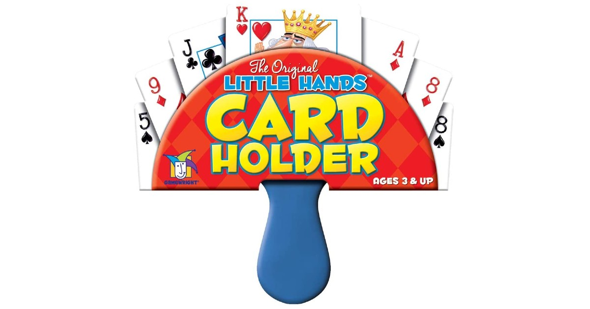 Gamewright Little Hands Playing Card Holder ONLY $1.49 (Reg. $7)