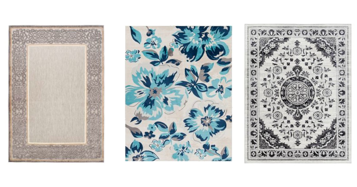 80% Off Rugs + Extra 15% Off at Checkout