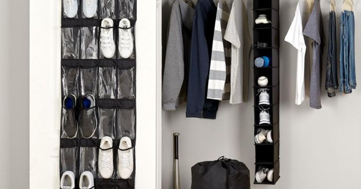 Mainstays 4-Piece Closet Organizer Set ONLY $9.76 (Reg. $28)