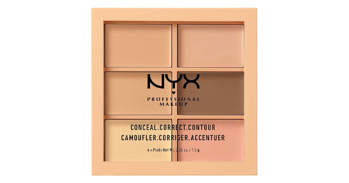 NYX Conceal Correct Contour Palette ONLY $3.14 (Reg. $12)