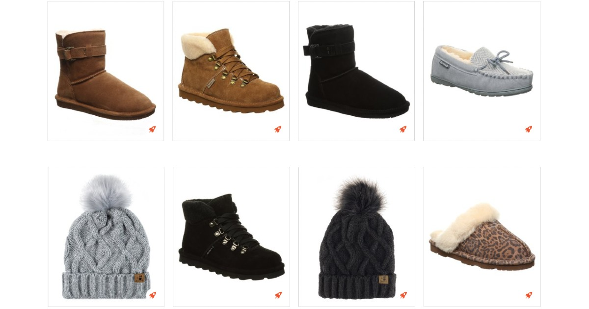 50% Off Bearpaw + Extra 10% Off at Checkout
