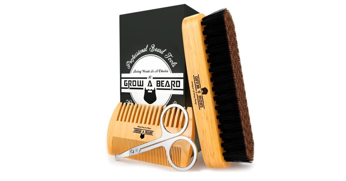 Beard Grooming Kit ONLY $6.99 (Reg. $15)
