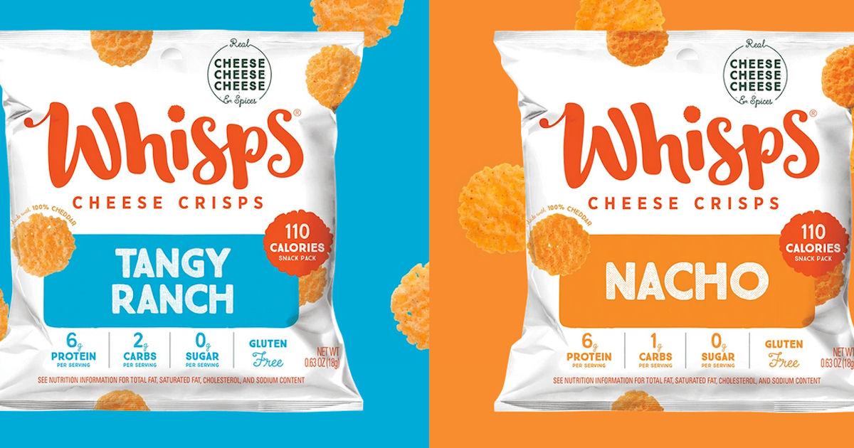 FREE Whisps Cheese Crisps Samp...