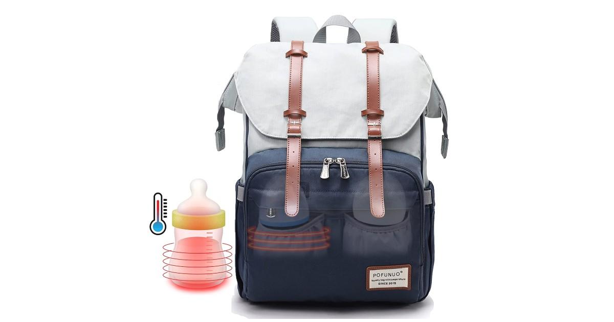 Diaper Bag Backpack ONLY $19.99 (Reg. $36)