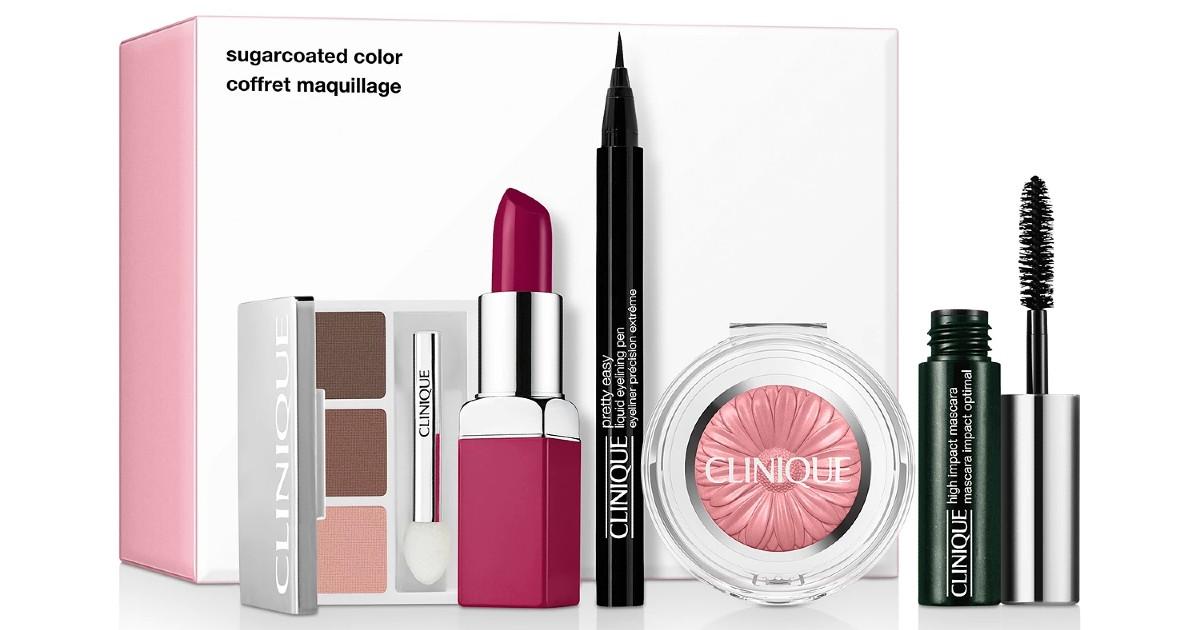 Clinique Sugarcoated Color Makeup Set