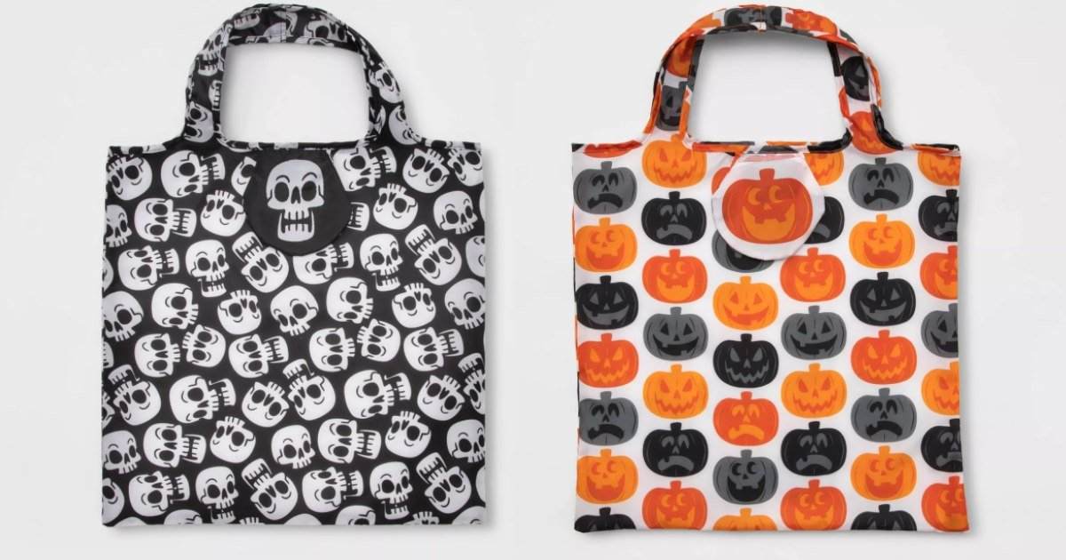 Reusable Halloween Trick-or-Treat Bags ONLY $1.80 at Target
