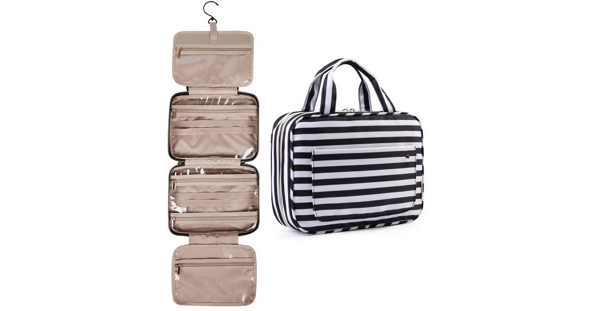 Bagsmart Toiletry Travel Bag w/ Hook