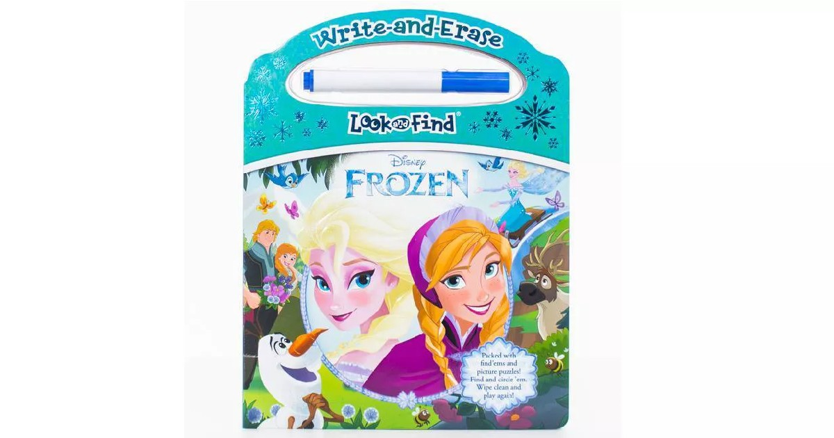 Disney Frozen Look and Find Book ONLY $4.99 (Reg. $11)