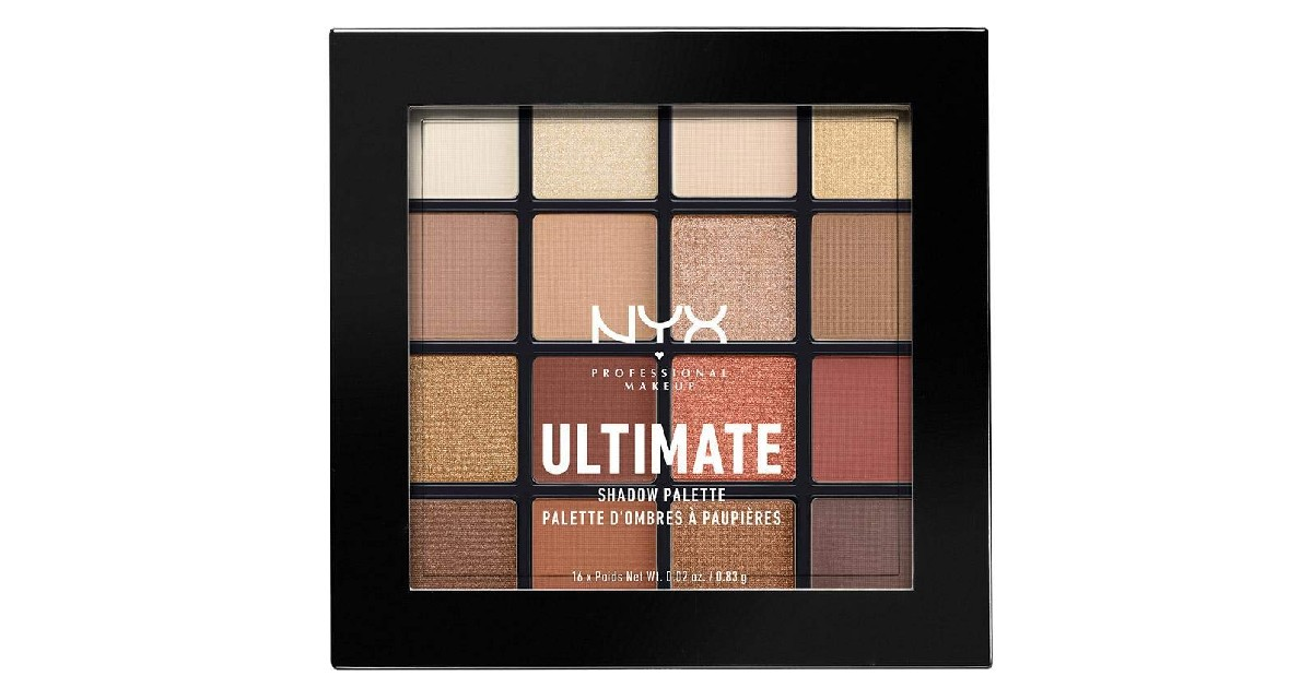 NYX Ultimate Shadow Palette ONLY $10.29 (Reg. $18)